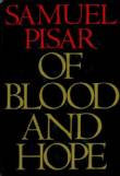 book cover of Samuel Pisar's Of Blood and Hope